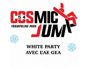 White Party au cosmic jump