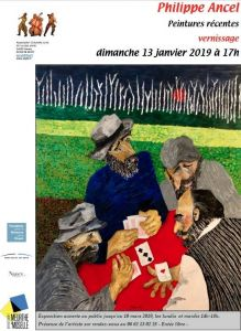 Vernissage exposition Philippe Ancel