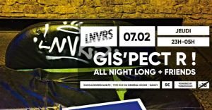GIS 'Pect' R ! All Night Long . Techno Jeudi . LNVRS