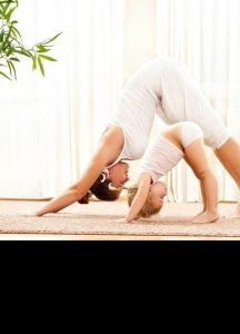 Yoga parents-enfant