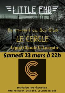 Concert blues rock au Cercle