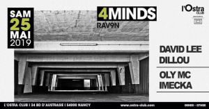 4Minds at L'Ostra Club_25_05_19
