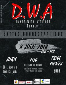D.W.A Dance With Attitude contest