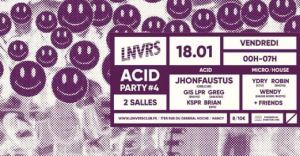 Acid Party #4 . JhonFaustus -Live- + Guests