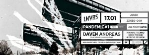 Daven Andreas - 4 decks session all night long
