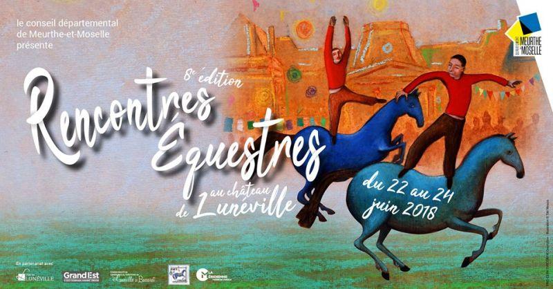 rencontre equestre luneville 2018